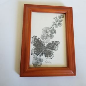 Butterfly drawing frame